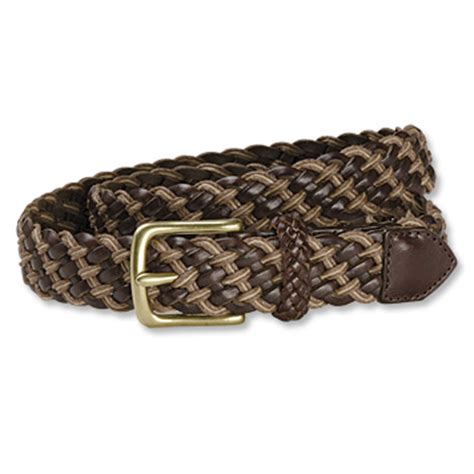 s braided leather cord belt avalon braided leather
