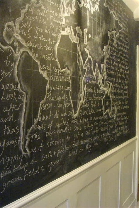 Just paint it white ta da nella casa pinterest chalkboards chalkboard walls and walls