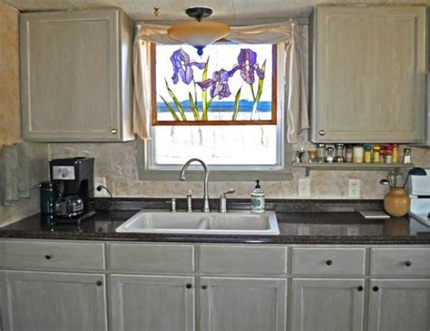 mobile home kitchen cabinets discount budget friendly mobile home kitchen makeover mobile home