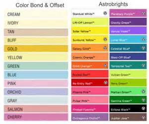 astrobright colors door hangers one color ink