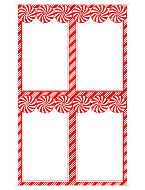 card gift tag templates don t eat the paste peppermint printables