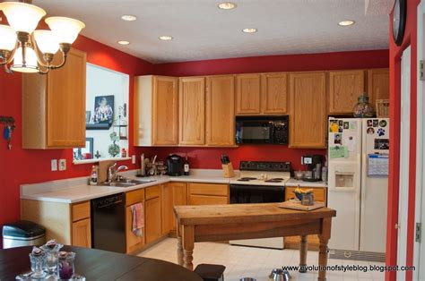 red kitchen paint ideas interior classy black wooden kitchen island with grey