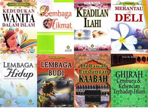 Lembaga Hidup Pengarang Hamka Buku pustaka iman koleksi karya prof hamka
