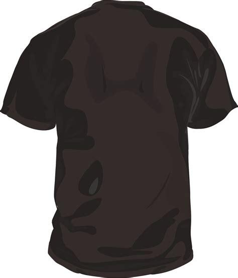 Poloshirt Lengan Panjang Black template desain kaos polos