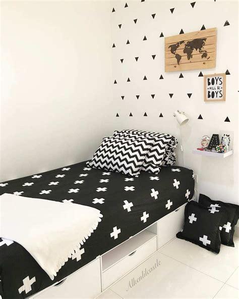kumpulan gambar wallpaper kamar hitam putih