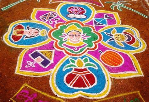 Rangoli Themes For Sankranthi | easy sankranti muggulu design patterns images photos