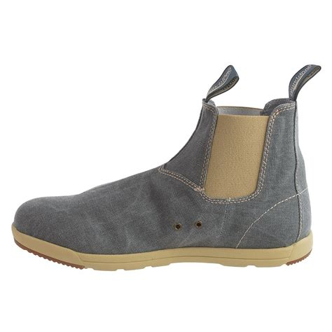 blundstone boots blundstone canvas chelsea boots for and save 58