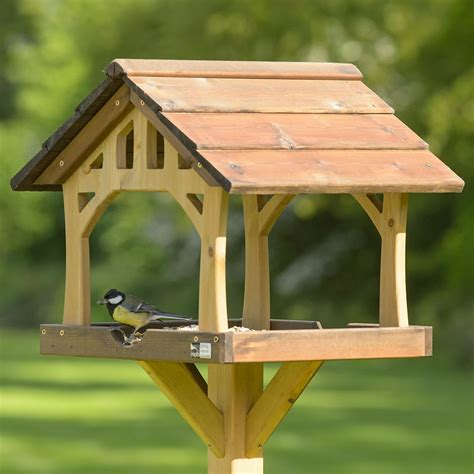 country barn bird table rspb bird tables rspb shop