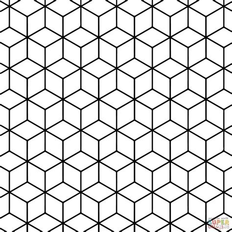 pattern simple form simple geometric patterns coloring pages for kids just