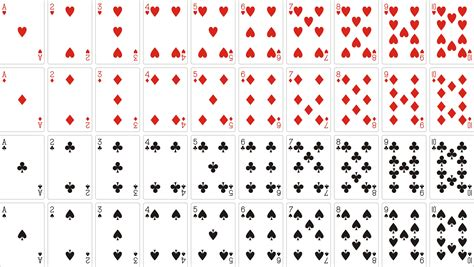 how to make deck of cards image gallery deck of 52