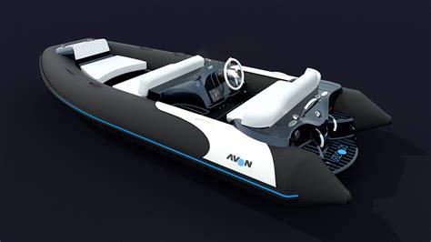 avon rib jet boat avon ejet electric jet tender boats