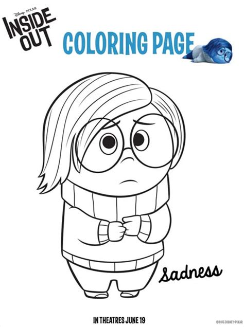 disney pixar coloring pages inside out free inside the house coloring pages