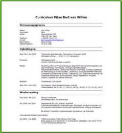 Curriculum Vitae Engels Template Een Voorbeeld Een Curriculum Vitae Gratis Downloads
