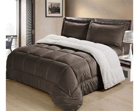 sherpa bedding ultra plush sherpa comforter shams