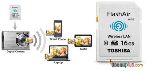 Harga Toshiba Flash Air 32gb toshiba flash air ii sdcard plus wifi wireless adapter