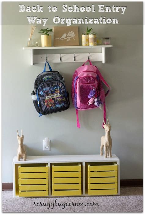 backpack storage solutions 10 ideas for backpack storage and organization living