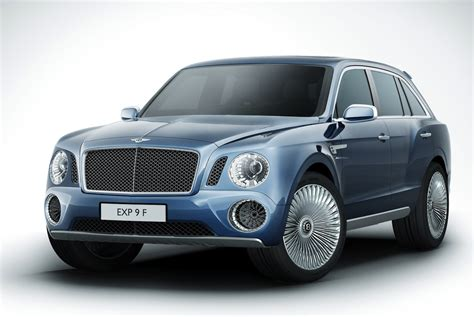 bentley exp 9 f suv concept is monstrously slashgear