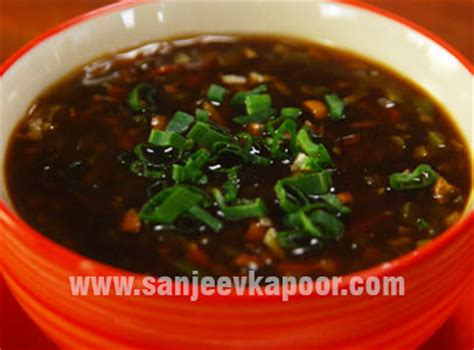 vegetarian and sour soup recipe and sour vegetable soup
