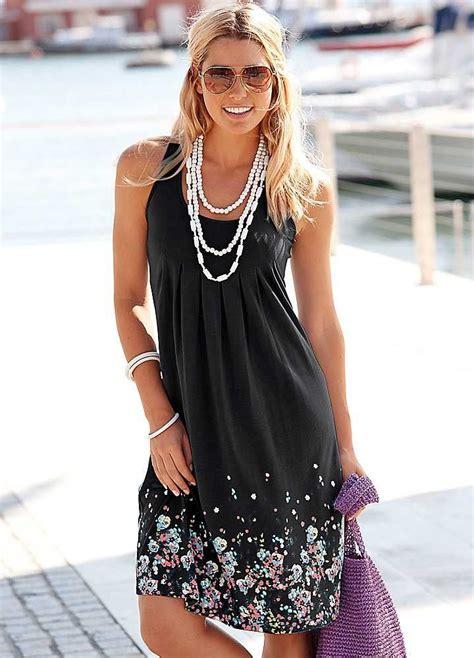 black petal print sun dress  beachtime fashion