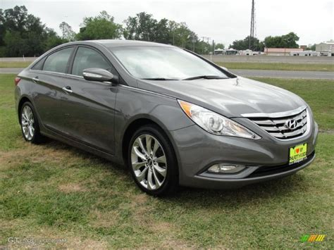 2011 Hyundai Sonata Limited Specs by Harbor Gray Metallic 2011 Hyundai Sonata Limited 2 0t
