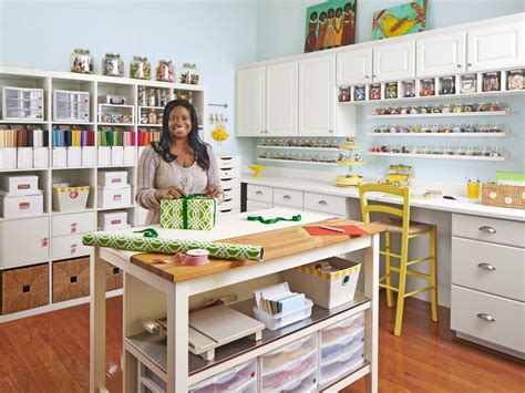 ideas for craft rooms how to turn any space into a craft room hgtv s