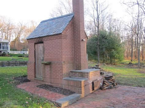 Backyard Smokehouse Plans by Built Like A Brick Smokehouse And An Awesome Pizza Oven