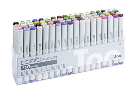 Copic Ciao Set 72 A copic japan markers pens ciao 72 color e sets anime illustration ebay