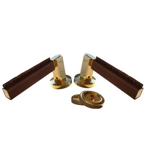 leather swarovski and glass door handles
