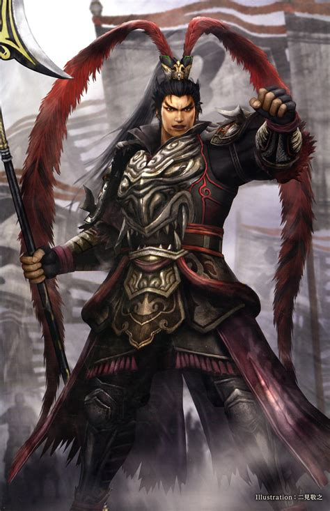 Dynasty Warrior Koei Lubu image lu bu 15th anniversary artwork dwekd jpg koei