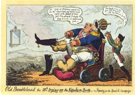 libro lme de napolon french heritage political cartoonist george cruikshank never tired of looning napoleon heritage