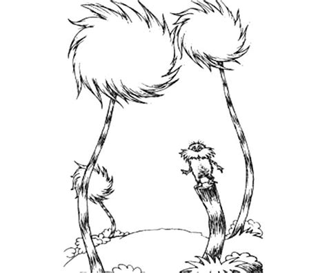 truffle tree coloring page lorax truffula tree coloring page coloring page for kids