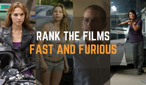 fast and furious movies in order feeling fuzzier a film blog rank the films fast and