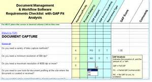 fit gap analysis template xls dm software requirements checklist fit gap analysis