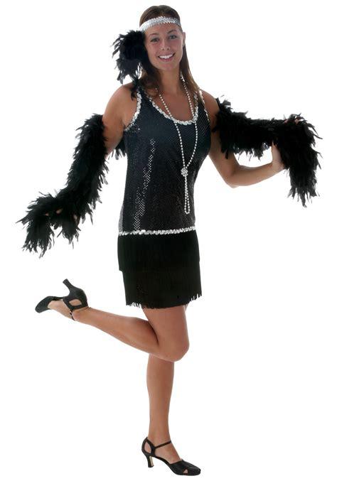 plus size flapper costume 1920s costumes 20s halloween plus size black flapper costume 1920 s flapper dress