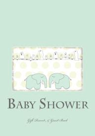 Baby Shower Gift Record Book by Baby Shower Gift Record Guest Book By I Remember Now
