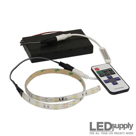 Led Lights Strips Battery Powered 5050 Rgb Color Battery Battery Powered Colored Led Light Strips