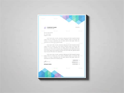 stationery design templates letterhead design template by crown point graphicriver