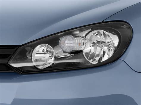 image 2010 volkswagen golf 2 door hb auto pzev headlight