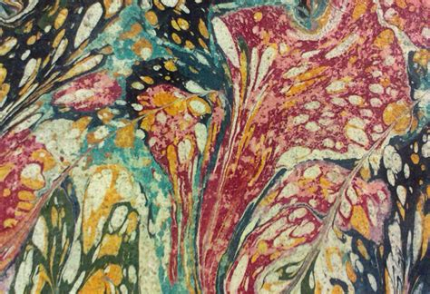 Make Marbled Paper - how to make marbled paper show me
