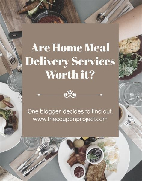 are home meal delivery services really worth it i decided