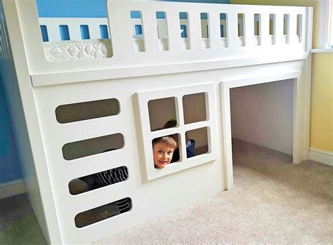 playhouse beds for funtime playhouse bed single only bunk beds