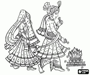 hinduism coloring pages printable games