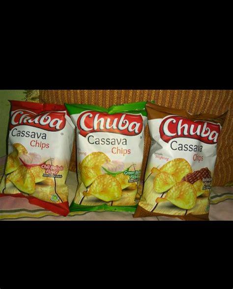 jual chuba keripik singkong  rasa cassava chips  lapak
