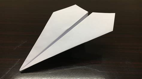 How To Make A Paper Foot - how to make a paper airplane that flies 200 mrdicey