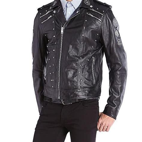 diesel l diesel l gordias leather jacket diesel pickture