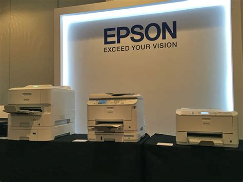 Printer Epson Workforce Pro Wf 6091 epson s workforce pro wf 5111 wf 5621 and wf 6091 business inkjet printers are fast and
