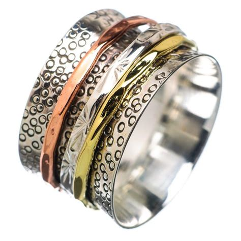 best 25 spinner rings ideas on silver and