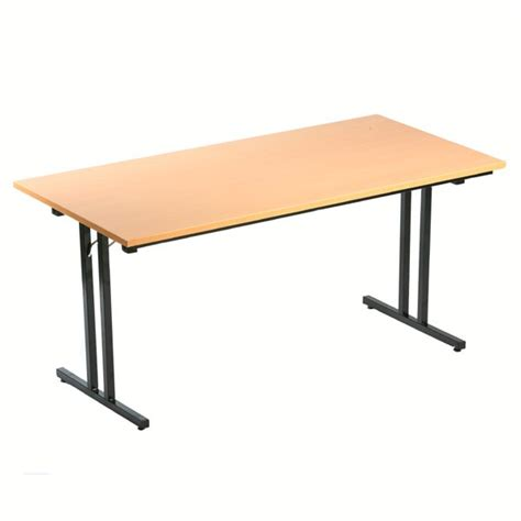 table bureau pliante table pliante l180 x p80 cm bureau d 233 p 244 t