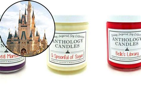 smells like home candles make your home smell like disney thanks to new disneyland