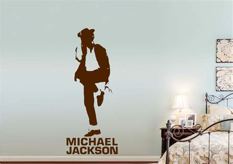 michael wall stickers michael jackson b w wall stickers adhesive wall